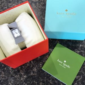 NWT Kate Spade stainless steel Carlyle Watch...